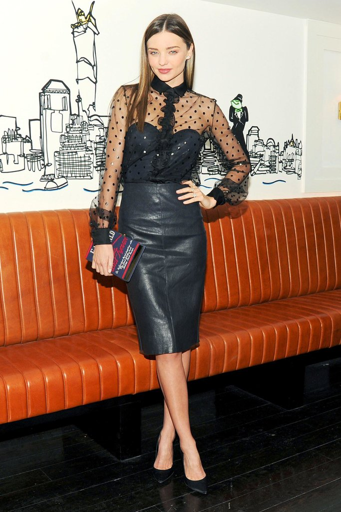 Miranda Kerr at Net-a-Porter's party at Omar's. Neil Rasmus/BFAnyc.com