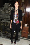 Taylor Tomasi Hill at Moda Operandi's Punk collection launch.