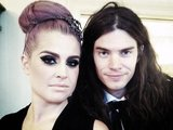 Kelly Osbourne and her fiancé Matthew Mosshart made a punk-perfect couple. Source: Twitter user MissKellyO