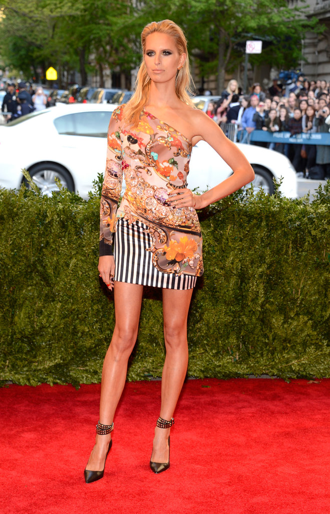 Karolina Kurkova at the Met Gala.