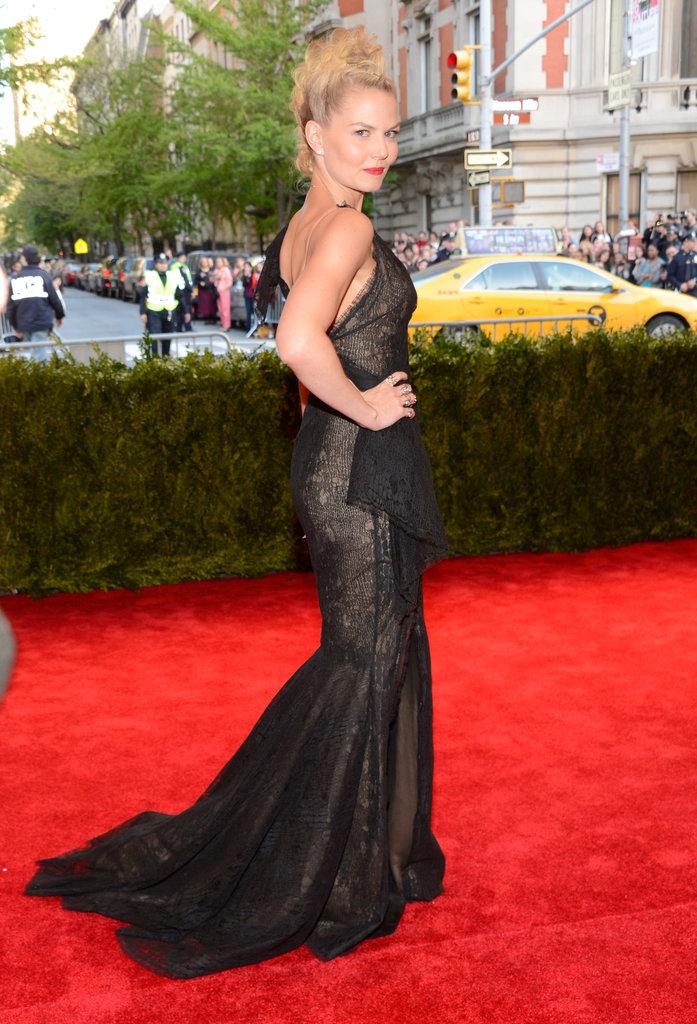 Jennifer Morrison at the Met Gala 2013.