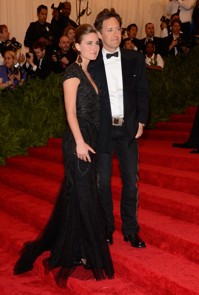 Lauren Bush and David Lauren at the Met Gala 2013.