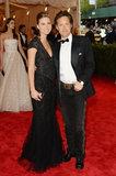 Lauren Bush and David Lauren at the Met Gala 2013.