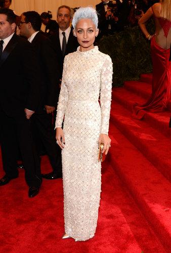 Nicole Richie at the Met Gala 2013.