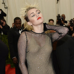 Miley Cyrus Pictures in Punk Marc Jacobs at 2013 Met Gala