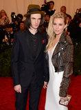 Sienna Miller and Tom Sturridge at the Met Gala 2013.