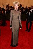 Miley Cyrus at the Met Gala 2013.