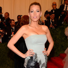 Blake Lively Pictures in Gucci at 2013 Met Gala
