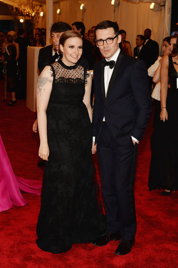 Lena Dunham Trades Her Girls For a Met Gala Guy