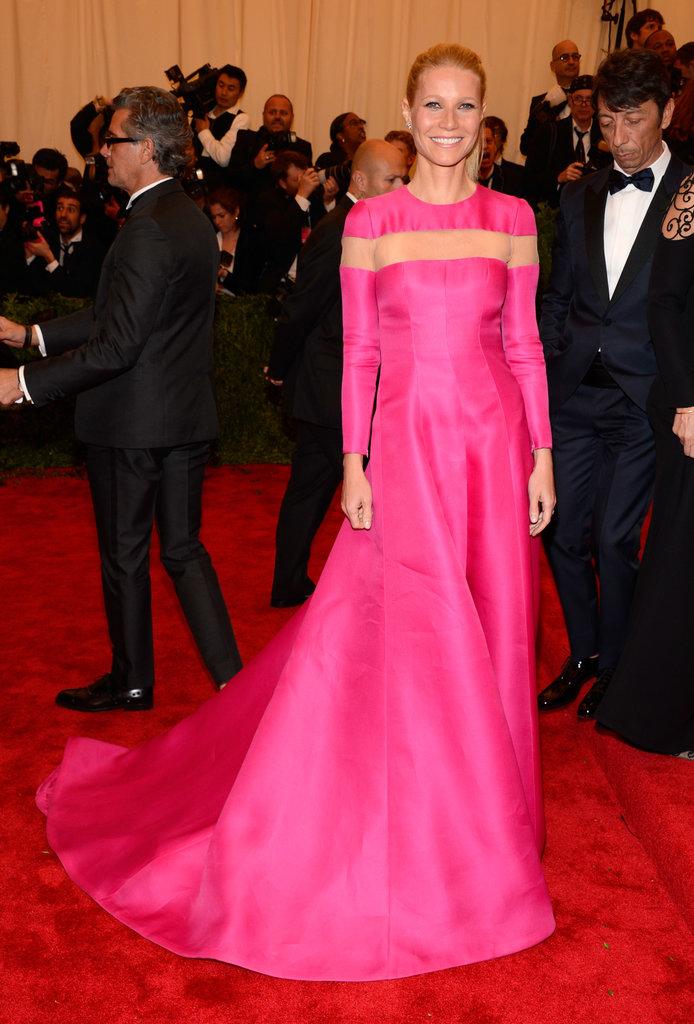 Gwyneth Paltrow at the Met Gala 2013.