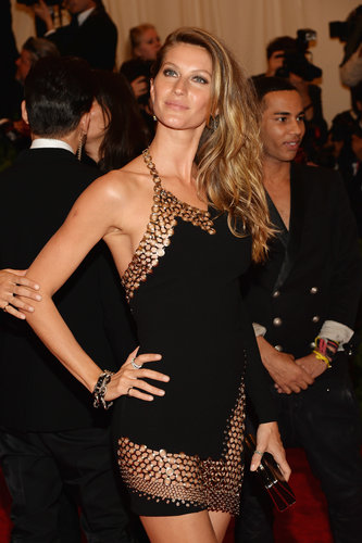 Gisele Bündchen at the Met Gala 2013.