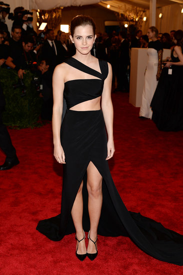 Emma Watson Bares Her Belly in Punk Prabal Gurung