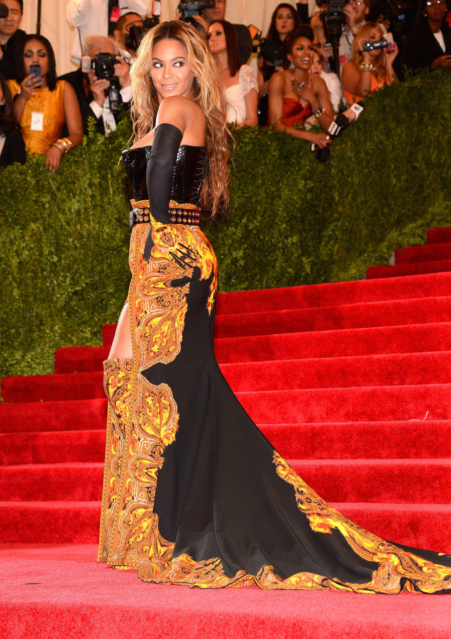 Beyoncé basically owned the red carpet at the Met Gala in May — she showed up in a gorgeous Givenchy gown for the event, for which she was an honorar