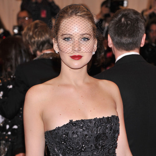 Jennifer Lawrence at the Met Gala 2013