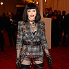 Madonna Pictures in Shorts at 2013 Met Gala