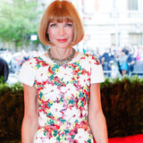 Anna Wintour Goes Back to Chanel For the 2013 Met Gala