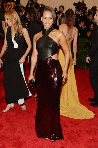 Alicia Keys at the Met Gala 2013.