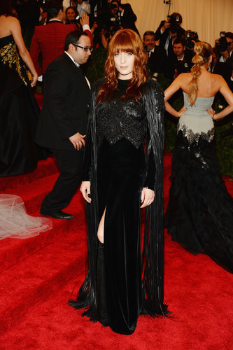 Florence Welch at the Met Gala 2013.