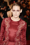Kristen Stewart at the Met Gala 2013.
