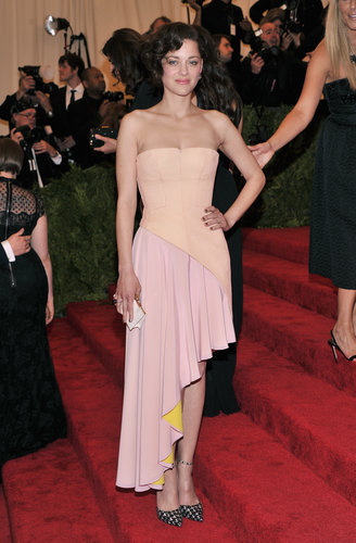 Marion Cotillard at the Met Gala 2013.