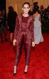 Kristen Stewart at the Met Gala 2013.