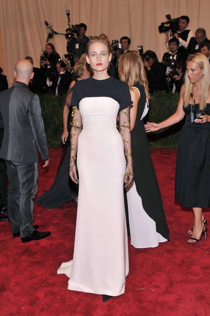 Leelee Sobieski at the Met Gala 2013.