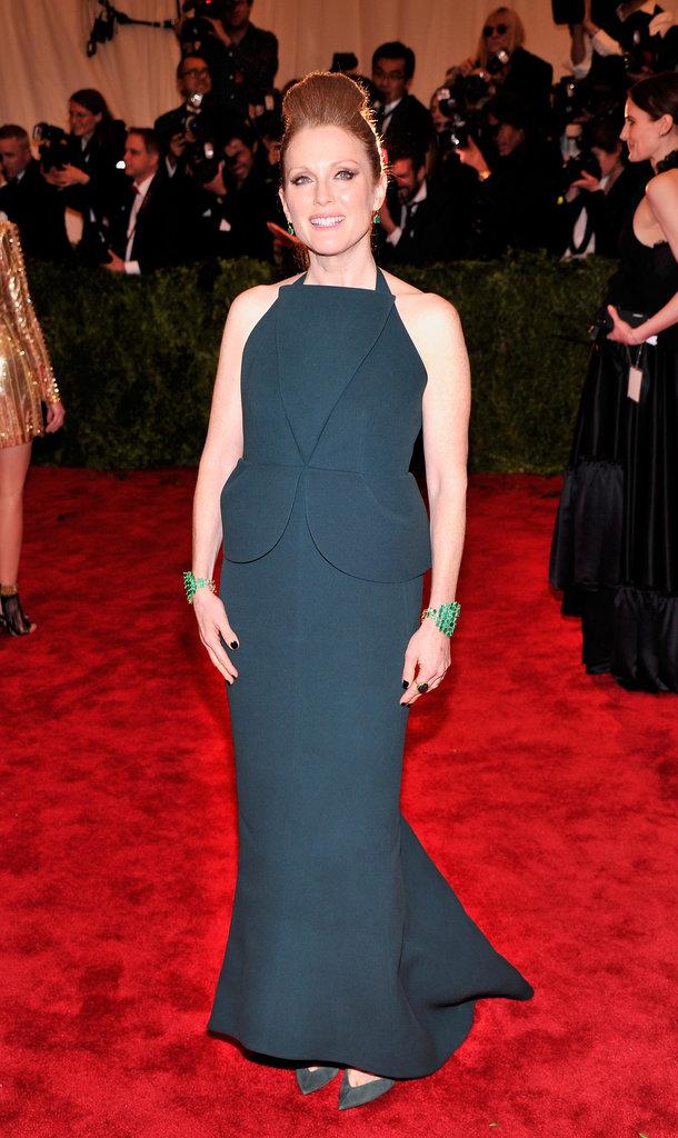 Julianne Moore at the Met Gala 2013.