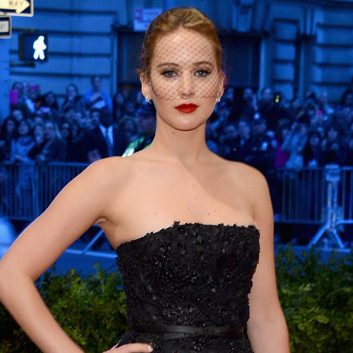 Jennifer Lawrence on Met Gala 2013 Red Carpet