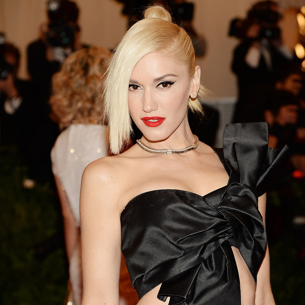Gwen Stefani Hair at Met Gala 2013 | Red Carpet