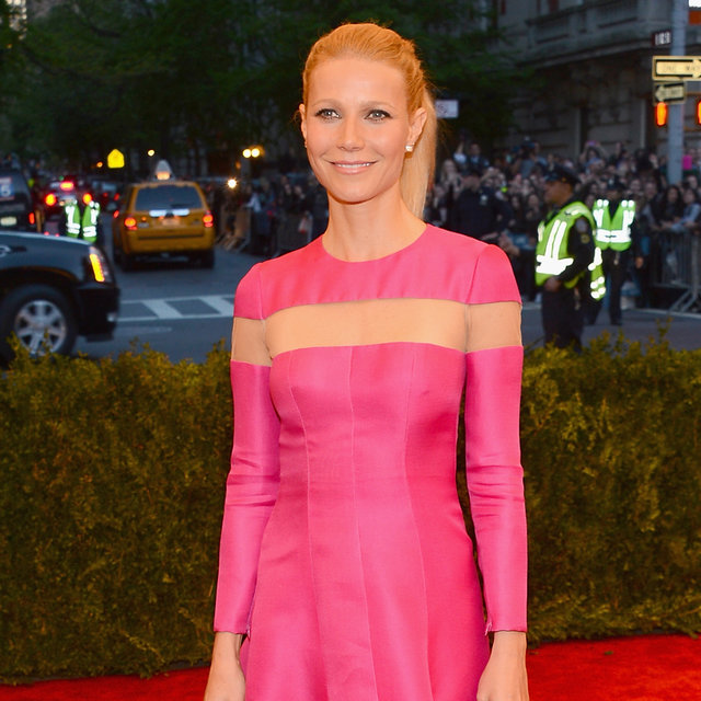 Gwyneth Paltrow's Pretty Ponytail at the Met Gala