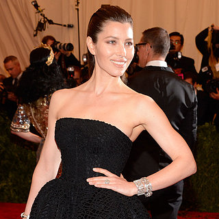Jessica Biel on Met Gala 2013 Red Carpet