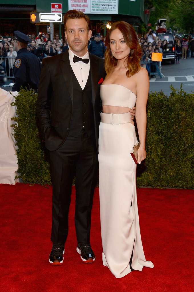 Olivia Wilde and Jason Sudeikis in 2013