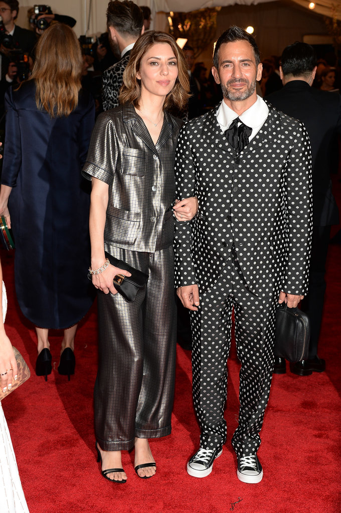 Sofia Coppola and Marc Jacobs, who wore Comme des Garcons.