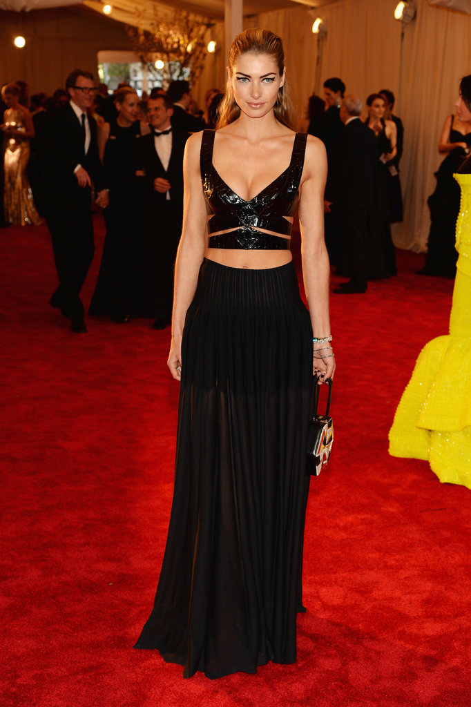 Jessica Hart at the 2013 Met Gala.