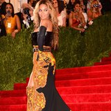 Beyoncé Knowles set the Met Gala on fire and later shared this picture to prove it.  Source: Instagram user beyonce
