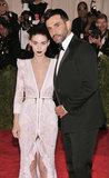 Rooney Mara met up with designer Riccardo Tisci.