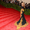 Celebrities on the Met Gala Staircase 2013