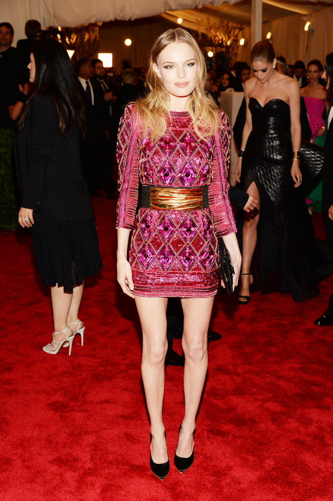 Kate Bosworth at the Met Gala 2013.