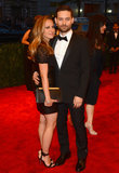 Tobey Maguire had wife Jennifer Meyer by his side.