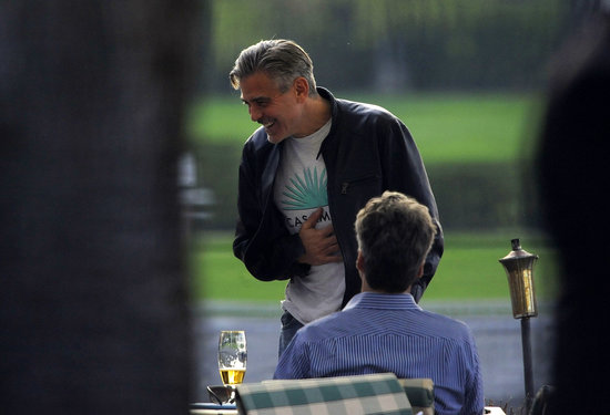George Clooney Laughs Through His Birthday With Matt Damon