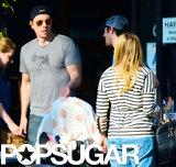 Dax Shepard and Kristen Bell took Lincoln to brunch.