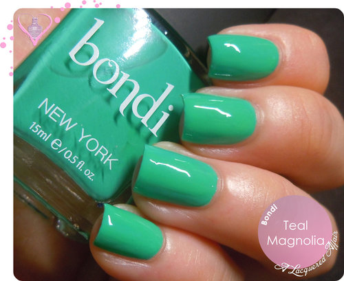 Bondi Teal Magnolia