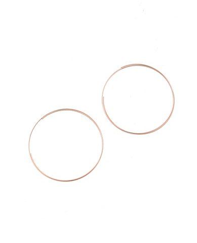 Style these diaphanous Jules Smith rose gold infinity hoop earrings ($69) with a simple little black dress and sexy heels for a night out.