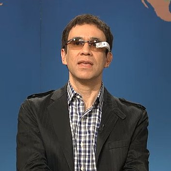 Saturday Night Live Google Glass