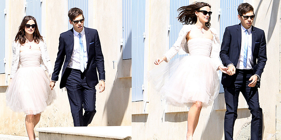 Keira Knightley Repeats Dress For Her Wedding!