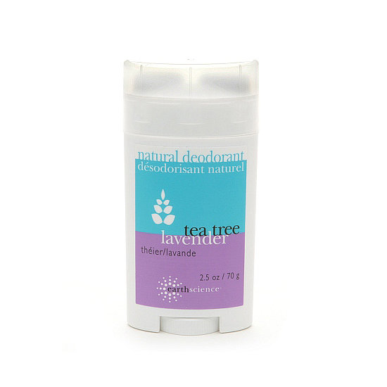 Vegan girls will love Earth Science Natural Deodorant in Tea Tree Lavender ($7), which is free of harsh chemicals and long-lasting.