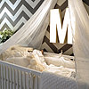 Molly Mesnick&#039;s Gray Chevron Nursery