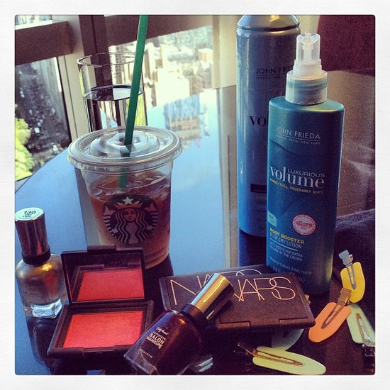 The Rodarte sisters shared their Met Ball prep along with Nars and John Frieda. Source: Instagram user officialrodarte