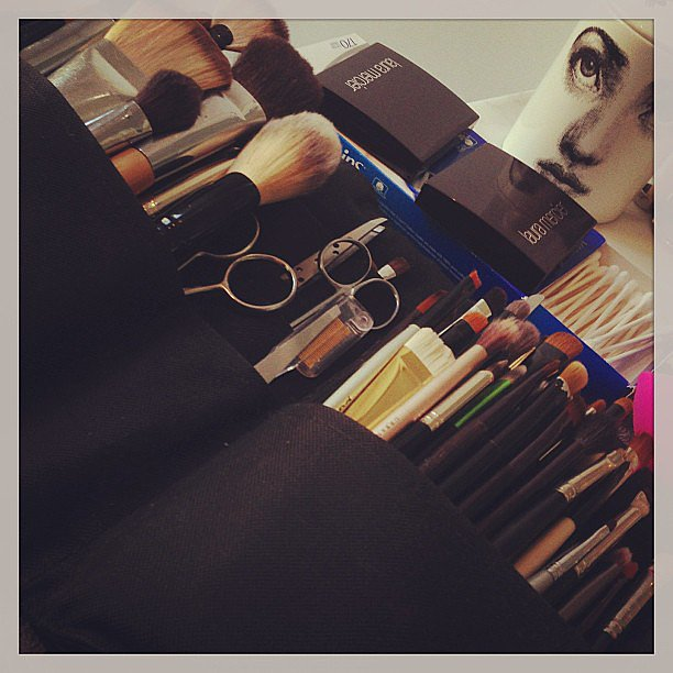Designer Tabitha Simmons gave a sneak peek of her makeup prep for the Met Gala. Source: Instagram user tabithasimmons