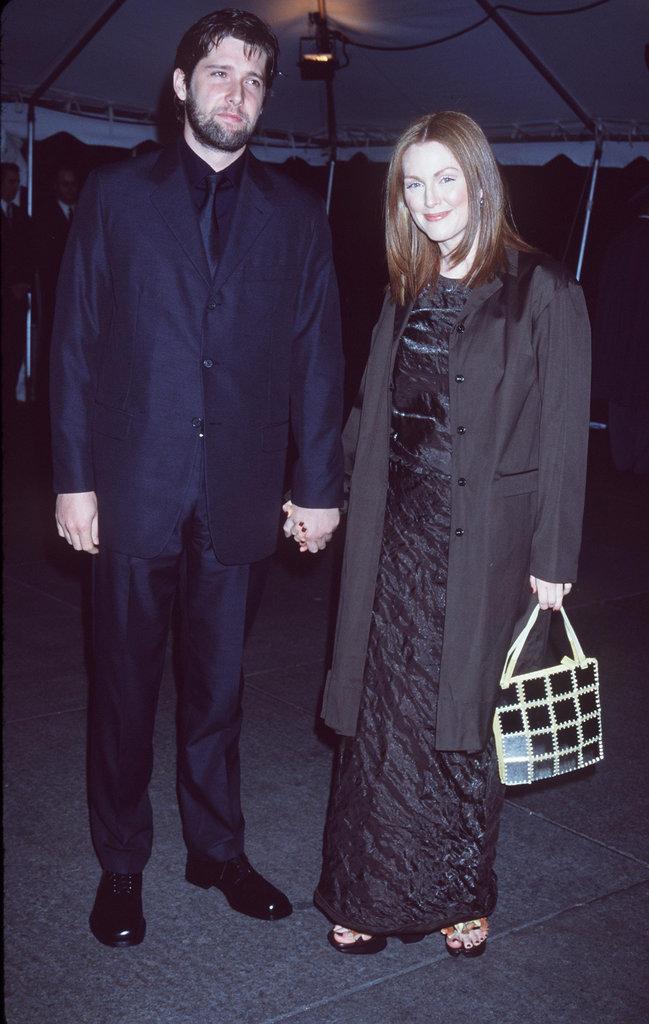 Julianne Moore and Bart Freundlich in 1998